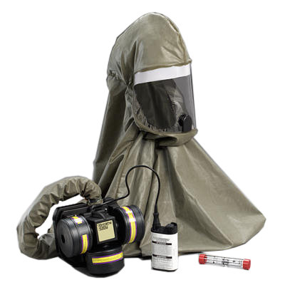3M™ Breathe Easy™ Butyl Rubber Hood Powered Air Purifying Respirator (PAPR) System