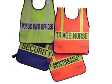TriCon Environmental, Inc. Emergency Vest - Two Pockets