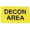 General Decon Area Flag - Yellow