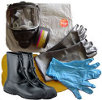 TriCon Environmental, Inc. Chem-bio Response Pak w/ North 7600 Series Gas Mask and Tychem CPF 3 Coverall